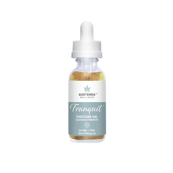 Tranquil 19:1 Maximum Strength - Tincture Oil